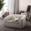 Molly Linen Pet Bed (Natural) - Sarah Virginia Home