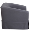 Molly Linen Pet Bed (Gray) - Sarah Virginia Home