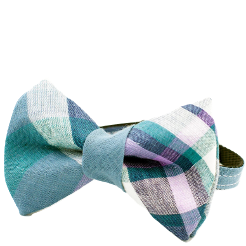 Cool Plaid Bow Tie Collar (Cat) - Sarah Virginia Home