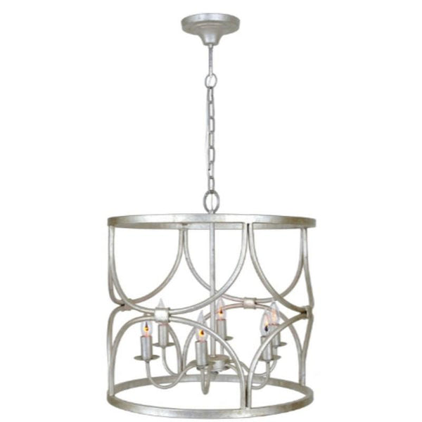 Caroline Chandelier (Silver) - Sarah Virginia Home