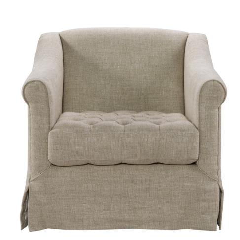 Belgium Skirted Chair - Sarah Virginia Home