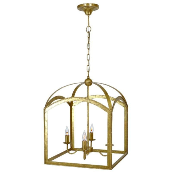 Traditional Chic Lantern (Gold) - Sarah Virginia Home