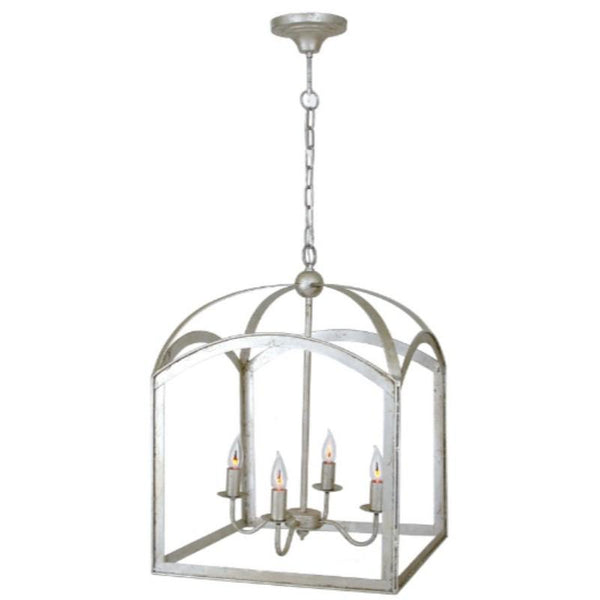 Traditional Chic Lantern (Silver) - Sarah Virginia Home