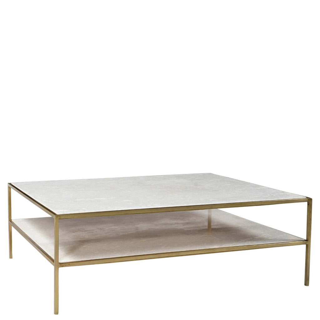 Brynn Coffee Table (Brass) - Sarah Virginia Home