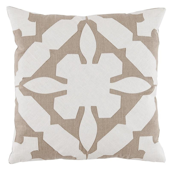 Cora Pillow (Ivory) - Sarah Virginia Home - 1