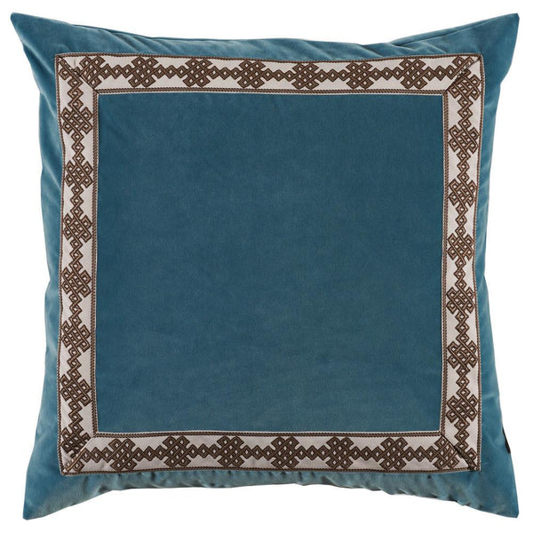 Deep Blue Throw Pillow - Sarah Virginia Home - 1