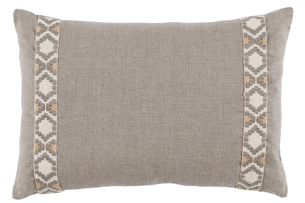 French Linen Lumbar Pillow - Sarah Virginia Home