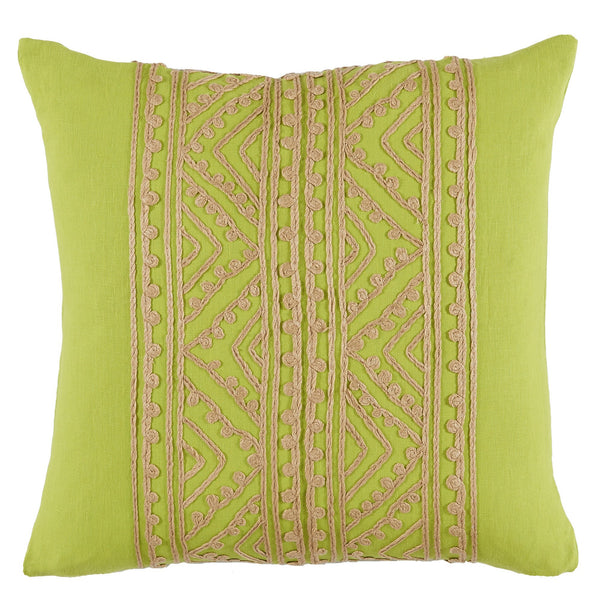 Spring Green Throw Pillow - Sarah Virginia Home - 1