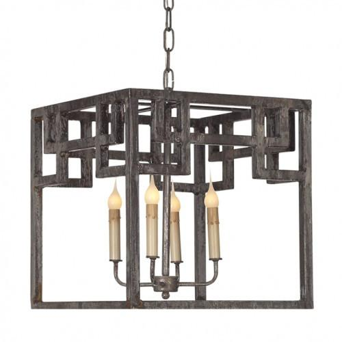 Greek Lantern (Iron) - Sarah Virginia Home