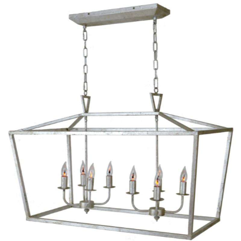 Ella Lantern-Silver - Sarah Virginia Home