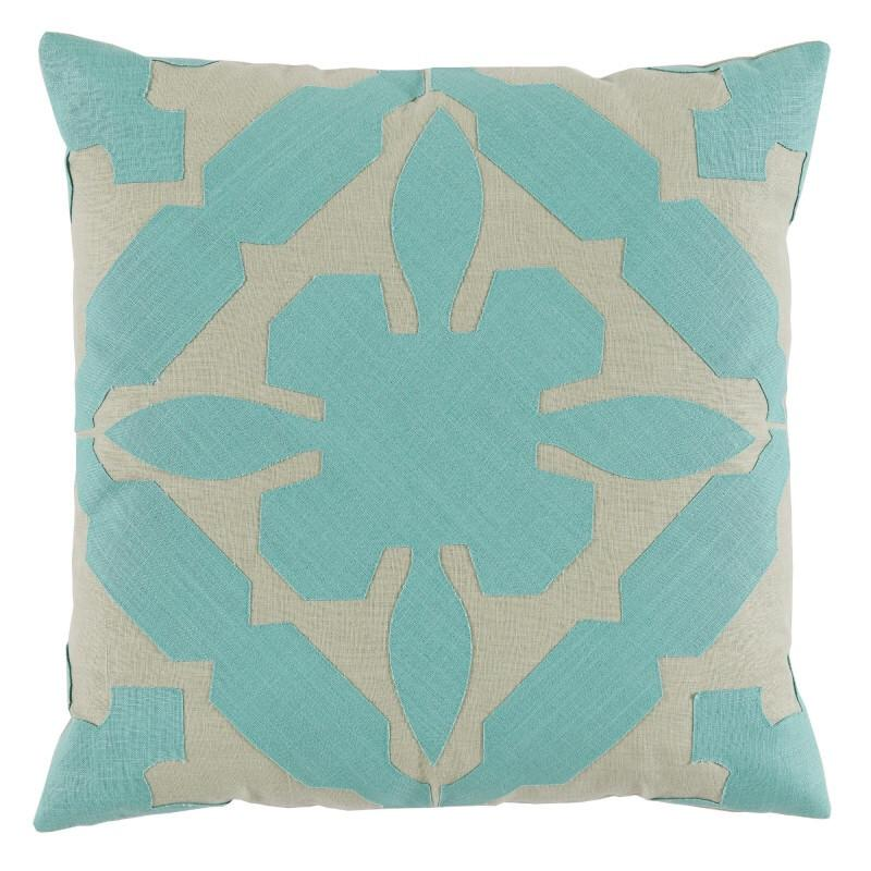 Cora Pillow (Blue) -  - 1