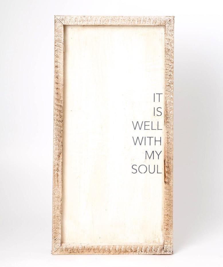 Framed Hymn 7x14 - Sarah Virginia Home