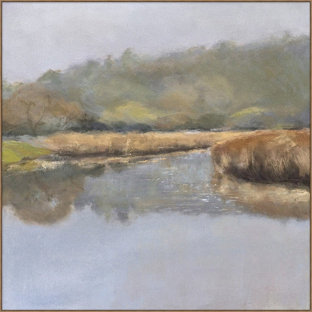 Mist on the River (40x40) - Sarah Virginia Home