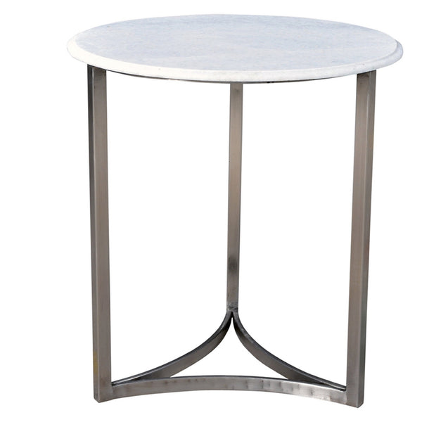 Stratford Side Table (Nickel) - Sarah Virginia Home