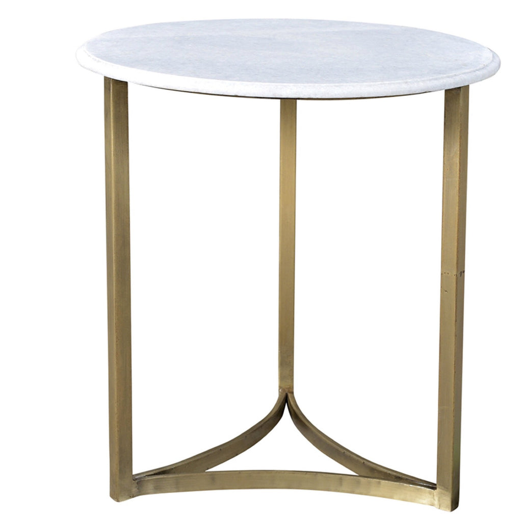 Stratford Side Table (Brass) - Sarah Virginia Home