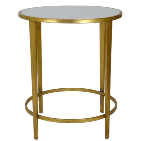 Quartz Round Side Table - Sarah Virginia Home