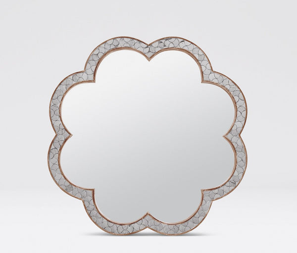Fiona Flower Mirror (Tikra) - Sarah Virginia Home - 1