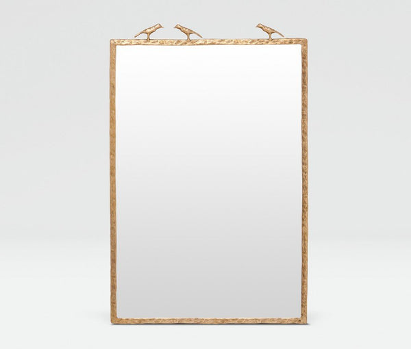 Jolene Mirror (Brass) - Sarah Virginia Home - 1