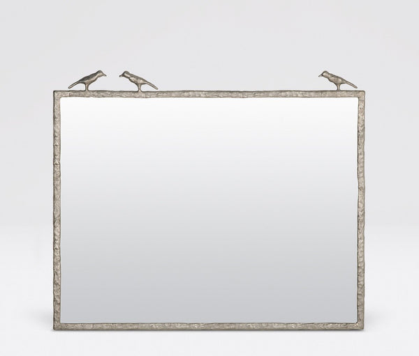 Jolene Mirror (Silver) - Sarah Virginia Home - 1