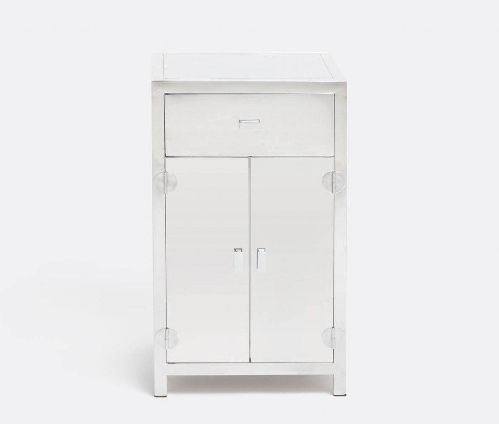 Kane Steel Nightstand - Sarah Virginia Home