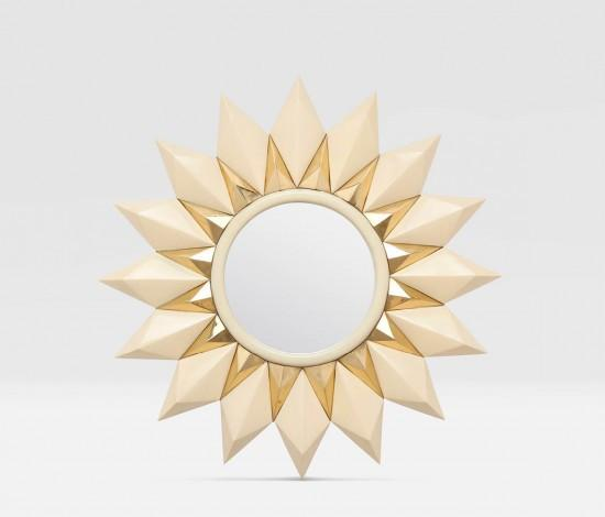 Marten Sunburst Mirror - Sarah Virginia Home - 1