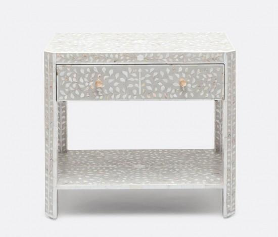 Hessa Double Nightstand - Sarah Virginia Home