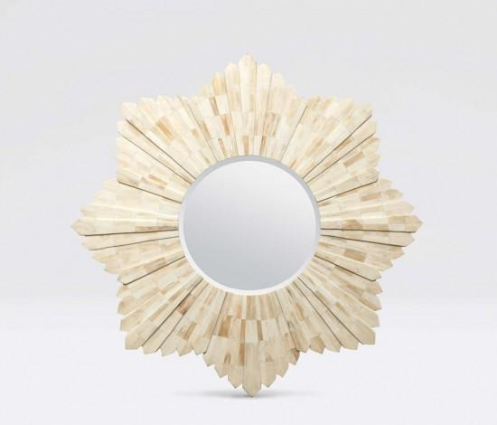 Marlow Starburst Mirror (Bone) - Sarah Virginia Home - 1