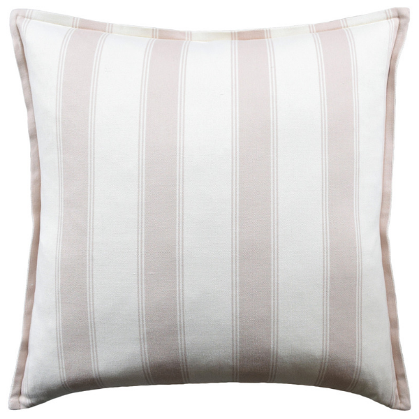 Rafe Stripe Pillow (Pink) - Sarah Virginia Home