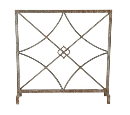 Charleston Fireplace Screen - Sarah Virginia Home