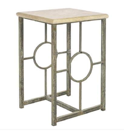 Circle Pane End Table - Sarah Virginia Home