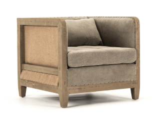 Deconstructed Club Chair - Sarah Virginia Home - 1