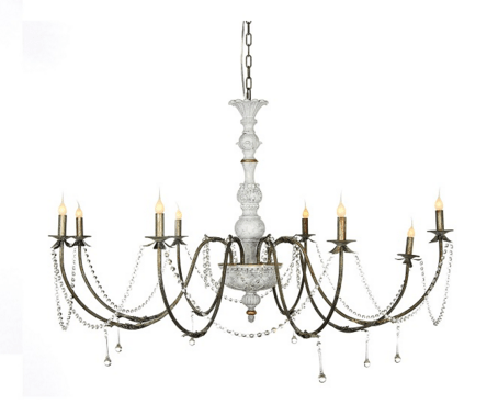 Napolean Chandelier - Sarah Virginia Home