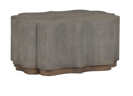 Sutton Shagreen Coffee Table - Sarah Virginia Home