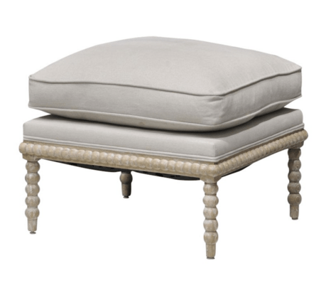 Rutledge Ottoman - Sarah Virginia Home