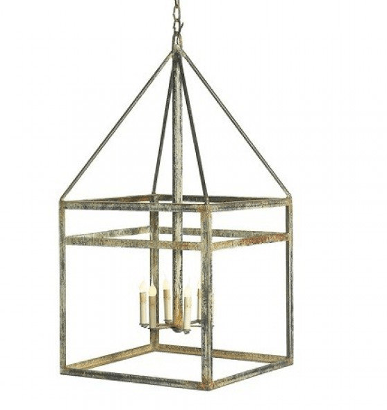 Open Air Iron Lantern - Sarah Virginia Home