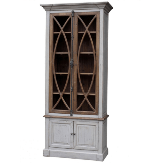 Two Tone Belgian Cabinet - Sarah Virginia Home
