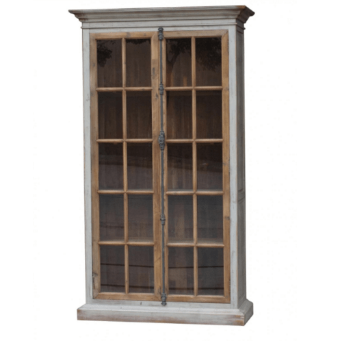 Monterey Glass Door Cabinet - Sarah Virginia Home