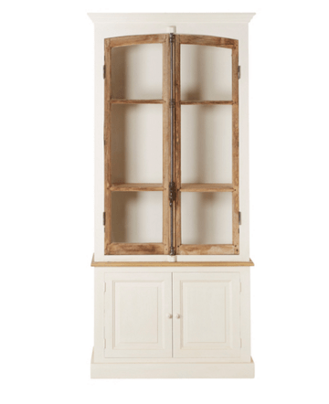 2 Door bakery cabinet - Sarah Virginia Home
