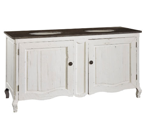 Fiona Double Bathroom Vanity - Sarah Virginia Home