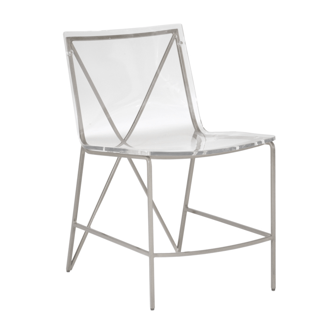 Andrea Dining Chair-Silver - Sarah Virginia Home