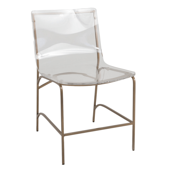 Phylo Dining Chair-Gold