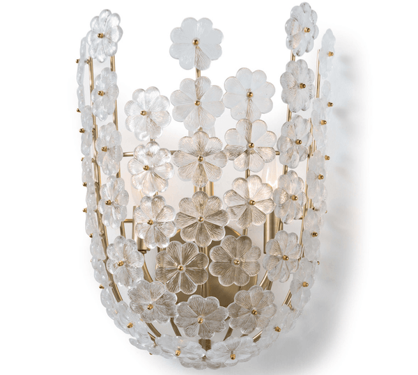 Floating Flora Sconce - Sarah Virginia Home