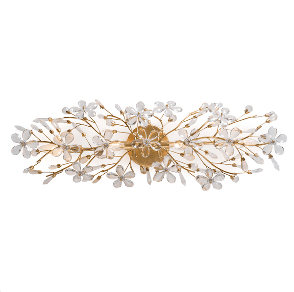 Blooming Sconce (Gold) - Sarah Virginia Home