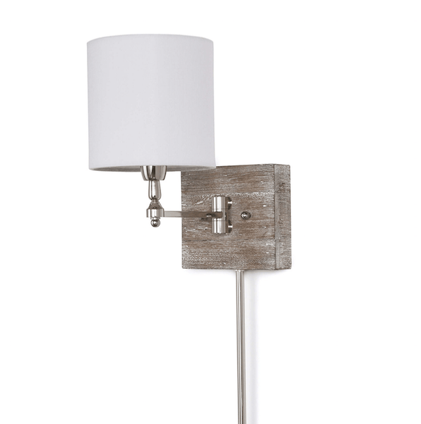 Rustic Swing Arm Sconce - Sarah Virginia Home