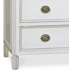 Carlisle Dresser (White & Antique Brass) - Sarah Virginia Home