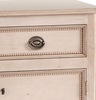 Carlisle Nightstand (Cashew & Brass) - Sarah Virginia Home