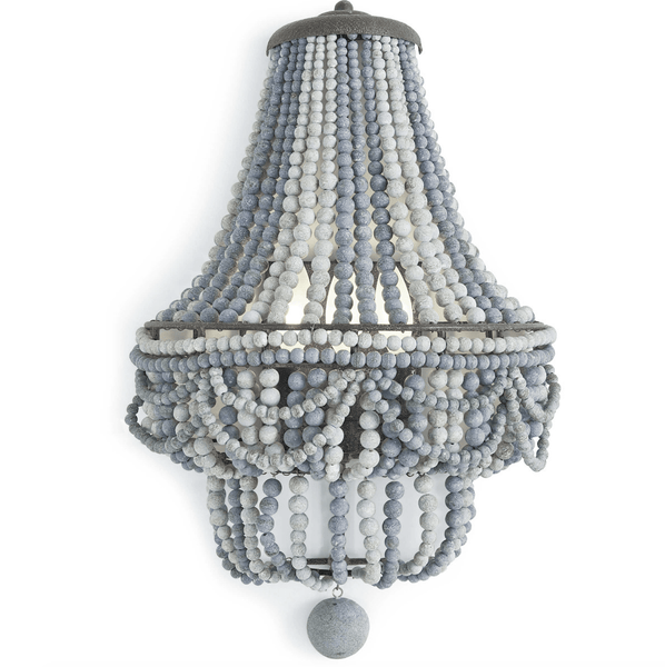 Malibu Sconce (Blue) - Sarah Virginia Home