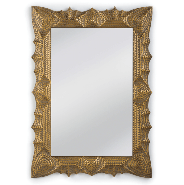 Art Deco Mirror (Gold) - Sarah Virginia Home