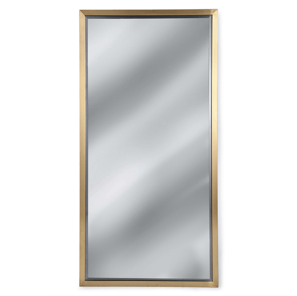 Rectangle Mirror (Natural Brass) - Sarah Virginia Home