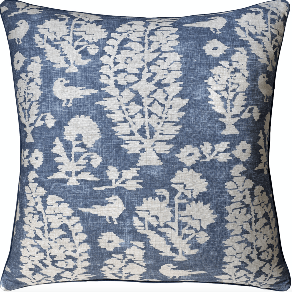 Adair Pillow (Blue) - Sarah Virginia Home